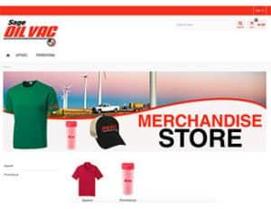 Oil Vac Merchandise Store